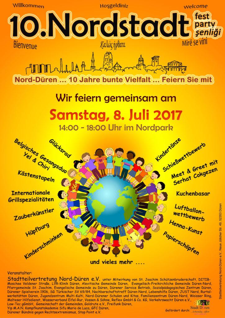 Plakat Nordstadtfest 2017