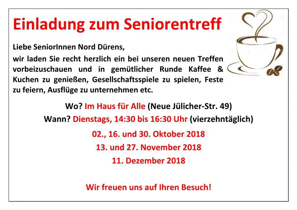 Seniorentreff Okt-Dez 2018