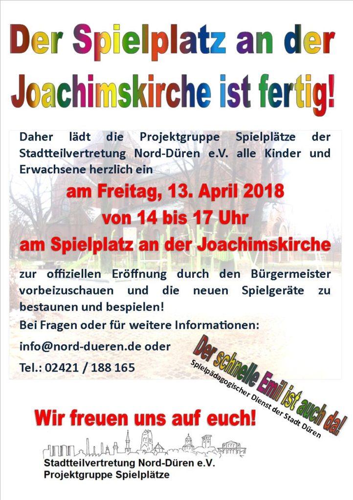 Handzettel April 2018 - große Eröffnung