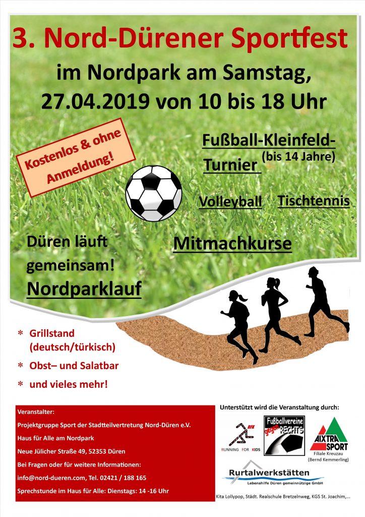 Plakat Sportfest - 3neu