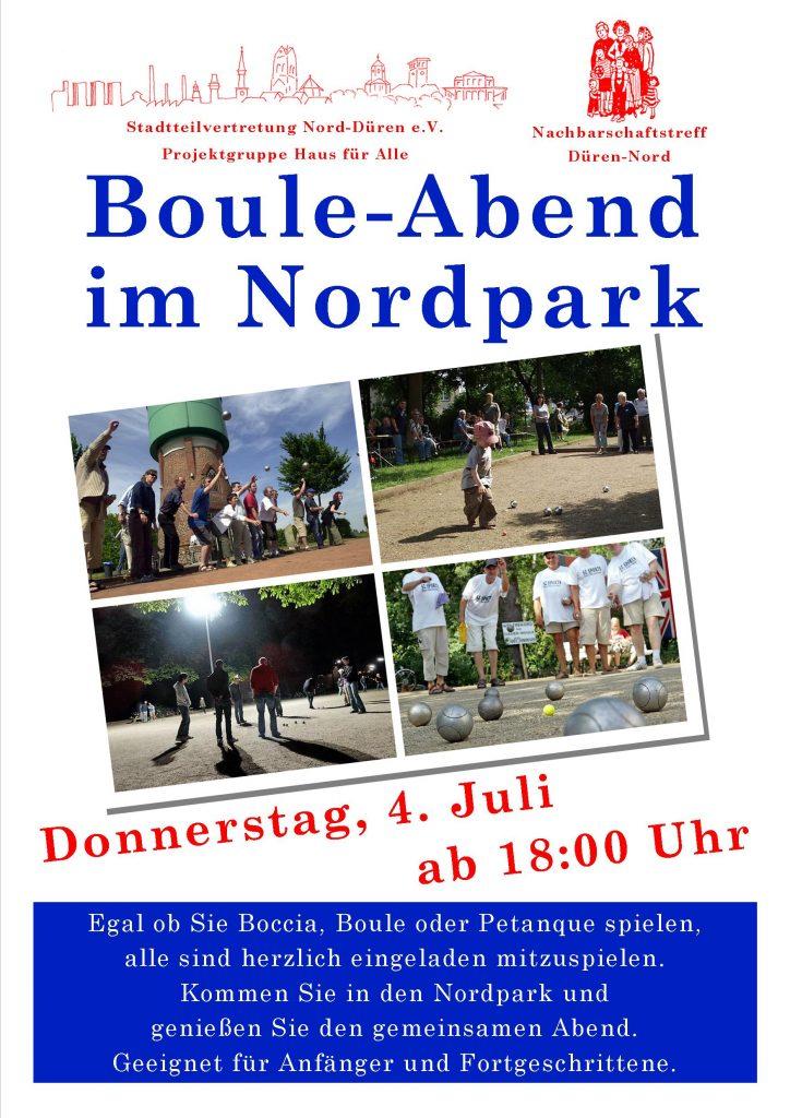 Plakat Boule