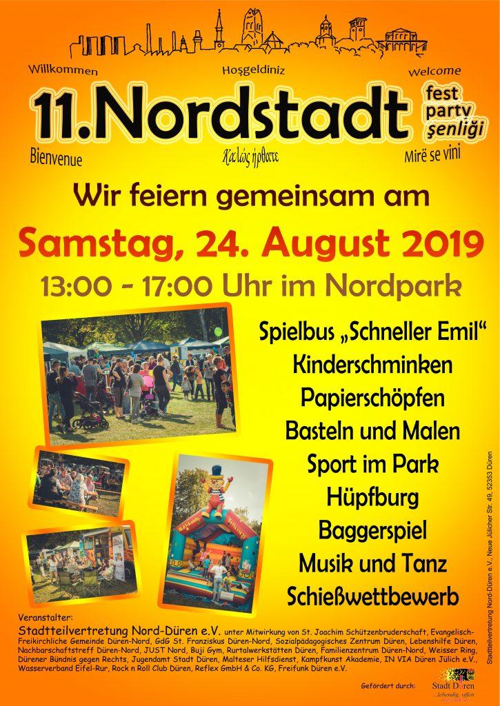 Plakat Nordstadtfest 2019