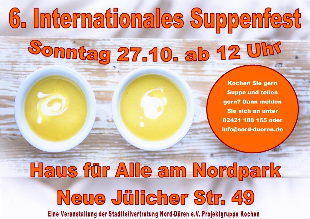 Plakat 2019 Suppenfest Anmeldung