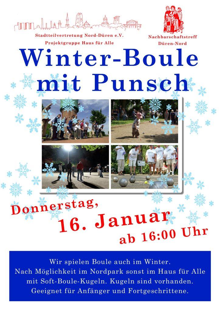 Plakat Boule 16.01.2020