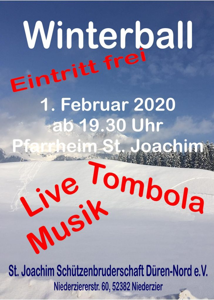 Winterball Schützen 2020