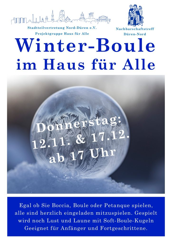 Plakat Winter Boule 2020